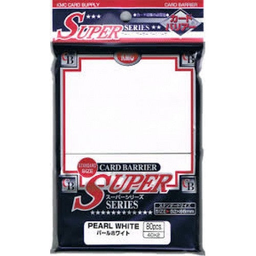Buy SUPL KMC Standard Pearl White 80 Ct Sleeves and more Great Sleeves & Supplies Products at 401 Games