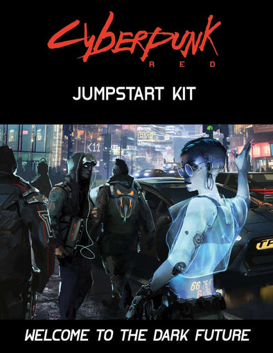Cyberpunk Red - Jumpstart Kit - 401 Games