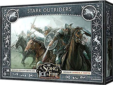 Buy A Song of Ice and Fire - Tabletop Miniatures Game - House Stark - Stark Outriders and more Great Tabletop Wargames Products at 401 Games