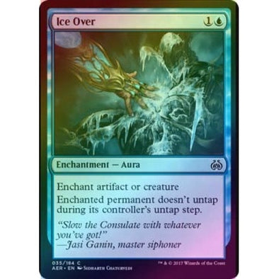 Ice Over (Foil) (AER) available at 401 Games Canada