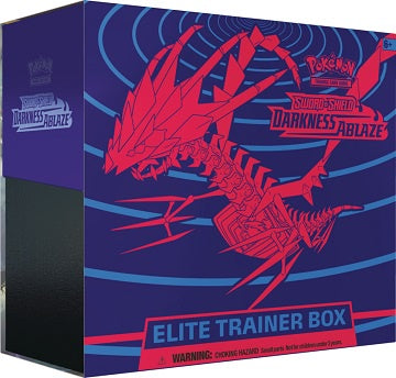 Pokemon - Darkness Ablaze Elite Trainer Box (Pre-Order Aug 14,2020) - 401 Games