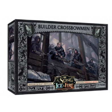 Buy A Song of Ice and Fire - Tabletop Miniatures Game - Night's Watch - Builder Crossbowmen (Pre-Order) and more Great Tabletop Wargames Products at 401 Games