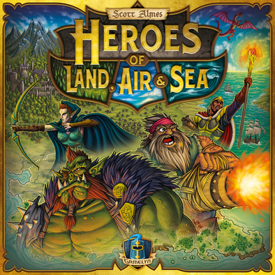 Buy Heroes of Land, Air & Sea and more Great Board Games Products at 401 Games
