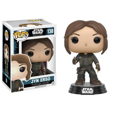 Buy Pop! Star Wars: Rogue One - Jyn Erso and more Great Funko & POP! Products at 401 Games