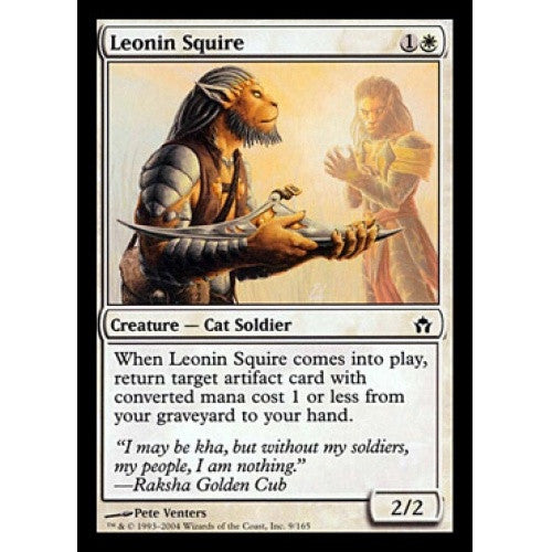 Leonin Squire (5DN) available at 401 Games Canada