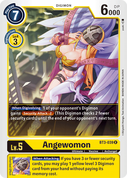 Angewomon (BT3-039) available at 401 Games Canada