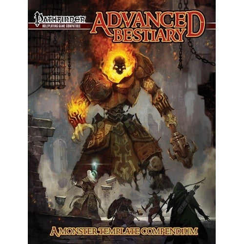 Pathfinder - Book - Advanced Bestiary - 401 Games