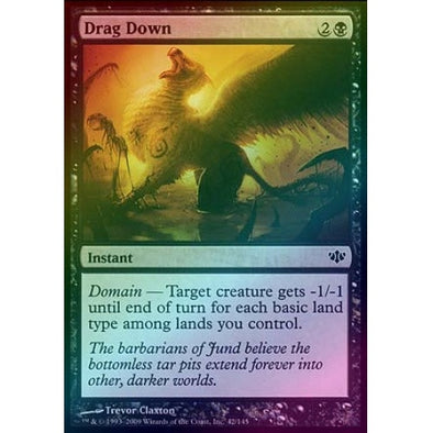 Drag Down (Foil) (CON) - 401 Games