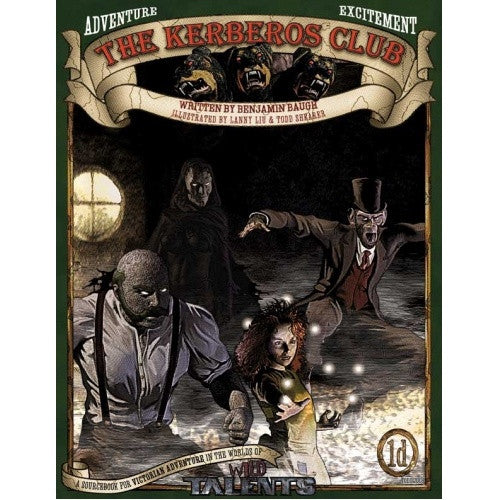 The Kerberos Club - Core Rulebook (Wild Talents Edition) - 401 Games