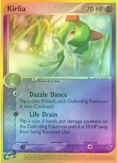 Kirlia - 35/109 - Reverse Foil (RS035R) available at 401 Games Canada
