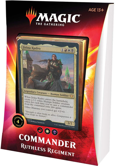 MTG - Ikoria Commander 2020 - Ruthless Regiment - 401 Games