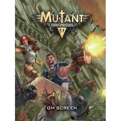 Buy Mutant Chronicles - GM Screen and more Great RPG Products at 401 Games