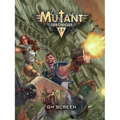 Mutant Chronicles - GM Screen - 401 Games