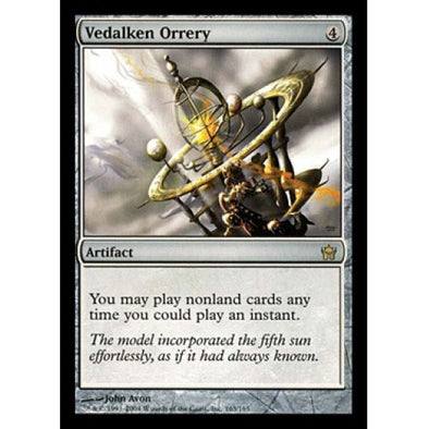Vedalken Orrery (5DN) available at 401 Games Canada