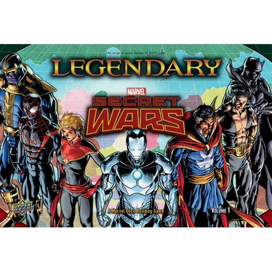 Marvel Legendary - Deck Building Game - Secret Wars - Volume 1 - 401 Games