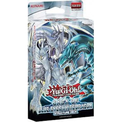 Buy Yugioh - Saga of Blue-Eyes White Dragon - Structure Deck (1st Edition) and more Great Yugioh Products at 401 Games
