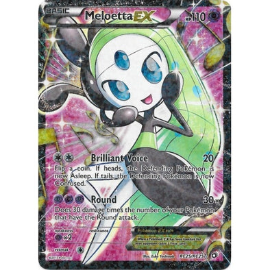 Buy Meloetta-EX - RC25/RC25 - Full Art and more Great Pokemon Products at 401 Games