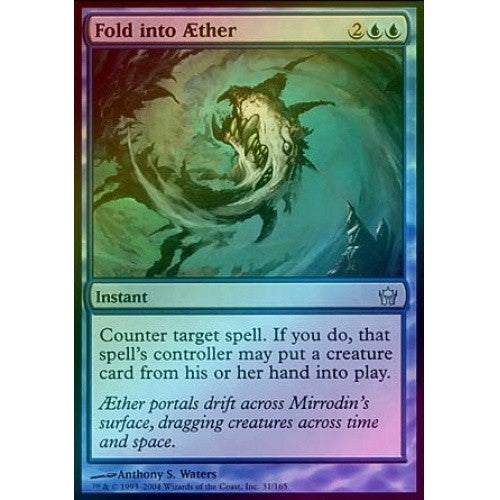 Fold into Aether (Foil) (5DN) available at 401 Games Canada
