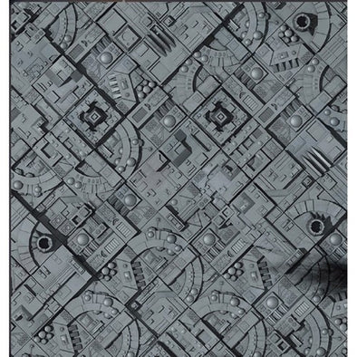 "Battlefield in a Box- Space Station Game Mat (36"" x 36"") - 401 Games"