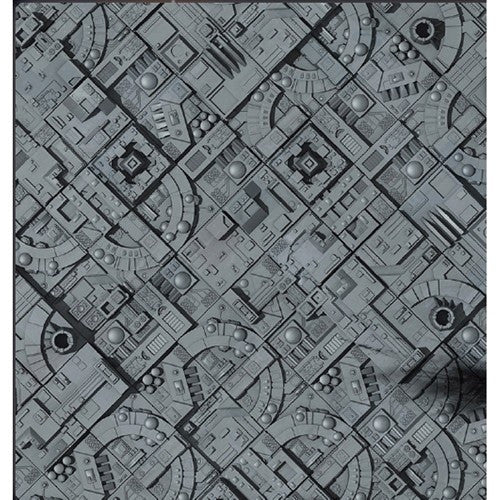 "Battlefield in a Box- Space Station Game Mat (36"" x 36"")"