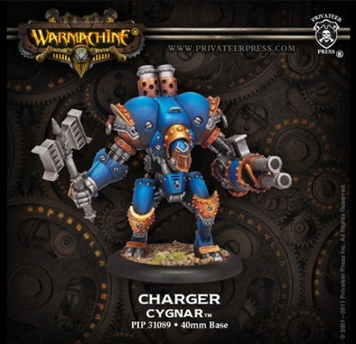 Buy Warmachine - Cygnar - Charger and more Great Tabletop Wargames Products at 401 Games