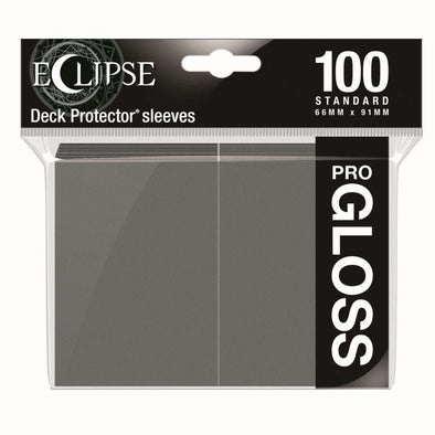 Ultra Pro - Gloss Eclipse - Standard Size - Smoke Grey 100ct available at 401 Games Canada
