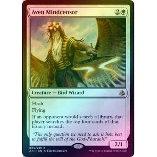 Aven Mindcensor (Foil) (AKH) available at 401 Games Canada
