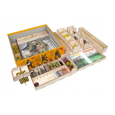 Buy The Broken Token - Zombicide Season 3 - Box Organizer and more Great Inserts and Overlays Products at 401 Games