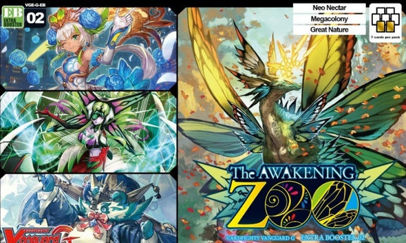 Cardfight!! Vanguard - VGE-G-EB02 - The Awakening Zoo Extra Booster Box (Pre-Order Jan 26,2018) - 401 Games