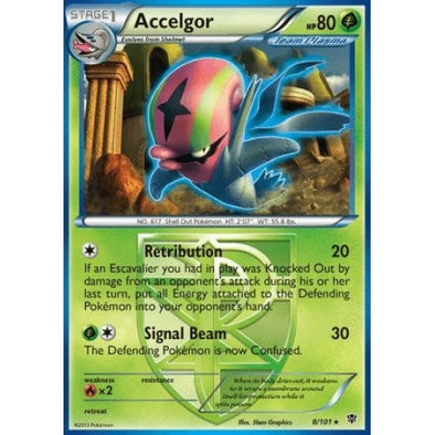 Buy Accelgor - 8/101 - Reverse Foil and more Great Pokemon Products at 401 Games