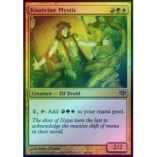 Knotvine Mystic (Foil) (CON) available at 401 Games Canada
