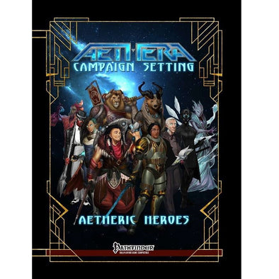 Buy Aethera - Aetheric Heroes and more Great RPG Products at 401 Games