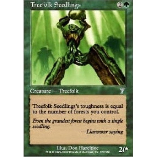 Treefolk Seedlings - 401 Games