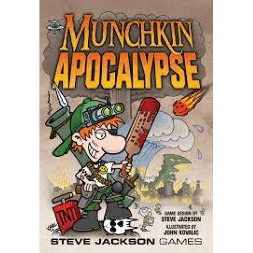 Munchkin Apocalypse available at 401 Games Canada