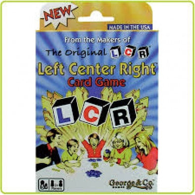 Buy LCR The Card Game and more Great Board Games Products at 401 Games