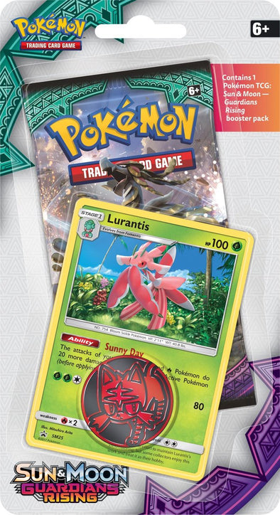 Pokemon - Guardians Rising Checklane Blister - Lurantis Promo available at 401 Games Canada