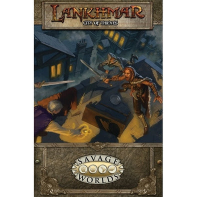Buy Savage Worlds - Lankhmar: City of Thieves (Softcover) and more Great RPG Products at 401 Games