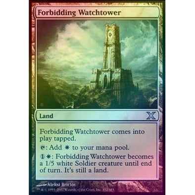 Forbidding Watchtower (Foil) available at 401 Games Canada