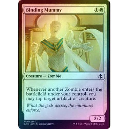 Binding Mummy (Foil) (AKH) available at 401 Games Canada