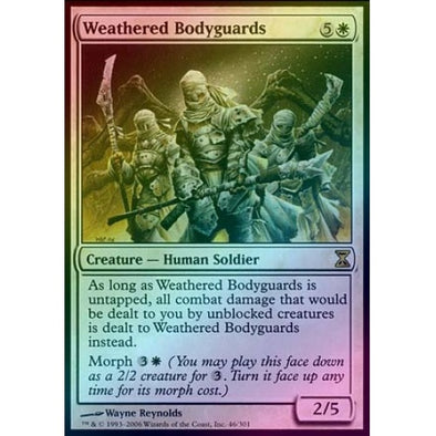 Weathered Bodyguards (Foil)