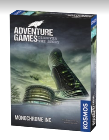 Buy Adventure Games - Monochrome Inc. (Pre-Order) and more Great Board Games Products at 401 Games