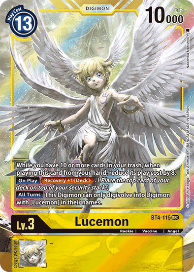 Lucemon - Alternative Art (BT4-115) (Pre-Order: 2021-05-28)