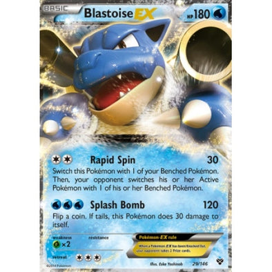 Buy Blastoise-EX - 29/146 and more Great Pokemon Products at 401 Games