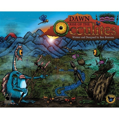 Dawn - Rise of the Occulites - Unpainted Edition (Base Set with 3 Expansions) - 401 Games