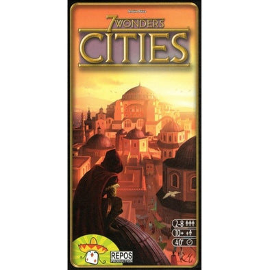 Buy 7 Wonders - Cities Expansion and more Great Board Games Products at 401 Games