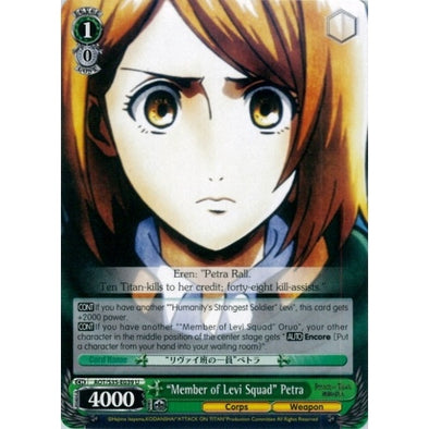 """Member of Levi Squad"" Petra available at 401 Games Canada"