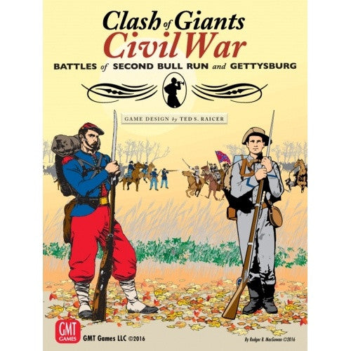 Clash of Giants - Civil War - Battles of Second Bull Run and Gettysburg - 401 Games