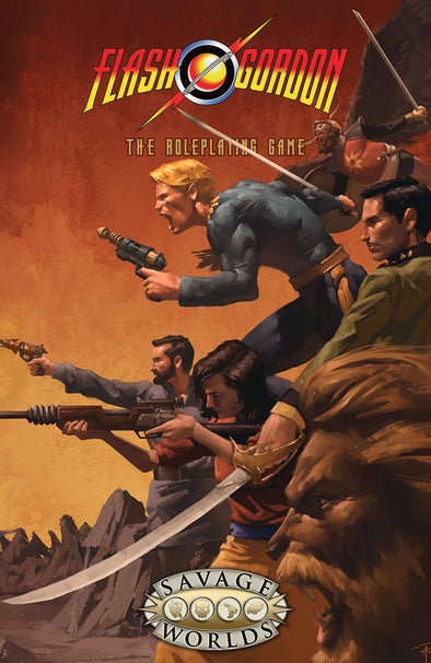Savage Worlds - Flash Gordon - Core Rulebook (Hard Cover)