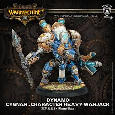Buy Warmachine - Cygnar - Dynamo and more Great Tabletop Wargames Products at 401 Games