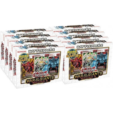 Buy Yugioh - Battle Pack 2 - War of the Giants Round 2 - Display (Display of 8) and more Great Yugioh Products at 401 Games
